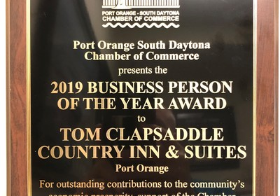 BUSINESS PERSON OF THE YEAR AWARD