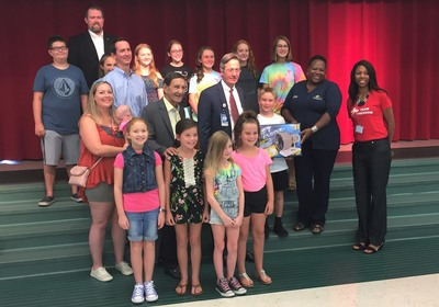 Airport Donates Models to Volusia County Schools!!!
